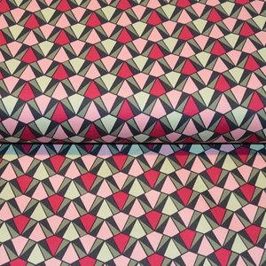 Cotton Satin Spandex - Pink